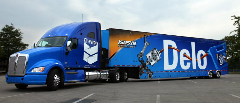 Cal Ohio Lube - North Lima Ohio - Delo Truck